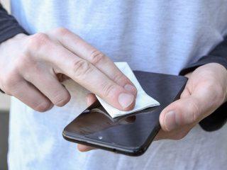desinfectar un celular